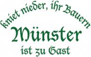 T-Shirt kniet nieder... Münster