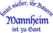 T-Shirt kniet nieder... Mannheim