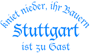 T-Shirt kniet nieder... Stuttgart