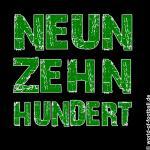 T-Shirt  Mönchengladbach neunzehhnhundert