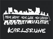 T-Shirt meine Heimat... Karlsruhe