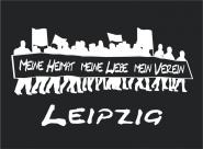 T-Shirt meine Heimat... Leipzig