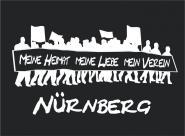 T-Shirt meine Heimat... Nürnberg