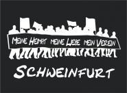 T-Shirt meine Heimat... Schweinfurt