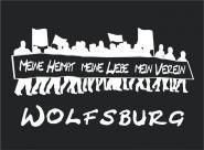 T-Shirt meine Heimat... Wolfsburg