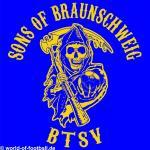 T-Shirt Sons of Braunschweig BTSV blau