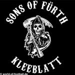 T-Shirt Sons of Fürth Kleeblatt schwarz