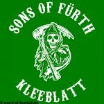 T-Shirt Sons of Fürth Kleeblatt grün