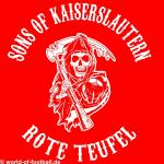 T-Shirt Sons of Kaiserslautern Rote Teufel rot