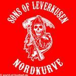 T-Shirt Sons of Leverkusen Nordkurve rot