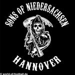 T-Shirt Sons of Niedersachsen Hannover schwarz