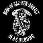 T-Shirt Sons of Sachsen-Anhalt Magdeburg schwarz