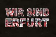 T-Shirt wir sind Erfurt