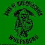 T-Shirt Wolfsburg Sons of Niedersachsen  grün