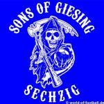1860 T-Shirt SONS OF  GIESING blau
