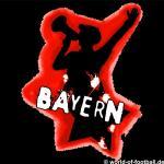 Herren T-Shirt Rundhals Crewneck Bayern Capo schwarz