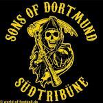 T-Shirt Dortmund SONS OF DORTMUND schwarz
